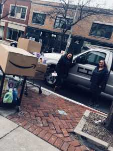 "Chicago Tube and Iron (Romeoville) delivers their annual holiday ""Wish List"" donations from their employee donation drive"