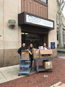 Christian Brothers Services (Romeoville) delivers a collection of brand new toys for the children we serve