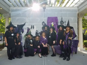 GACS staff volunteering at Witches Night Out 2017